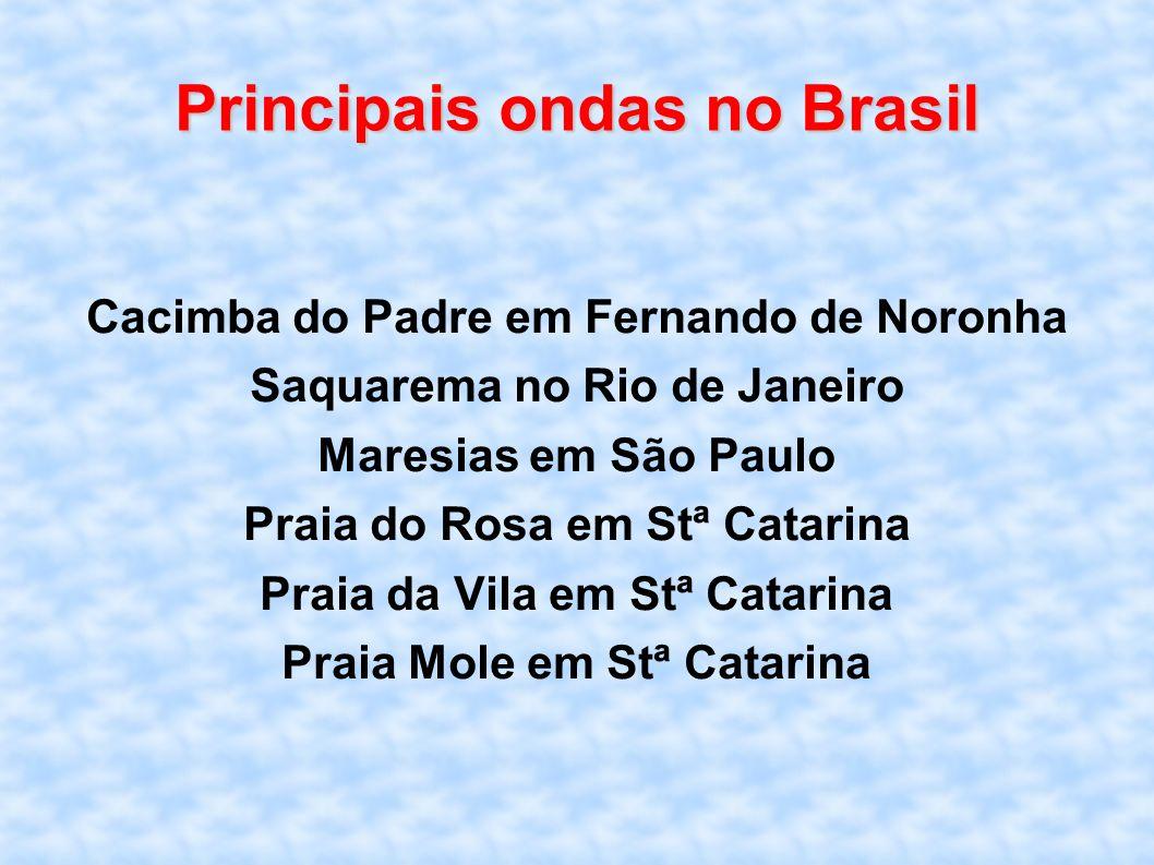 Principais ondas no Brasil