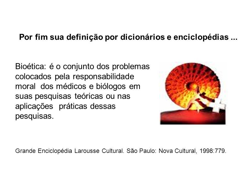 Por fim sua definição por dicionários e enciclopédias ...