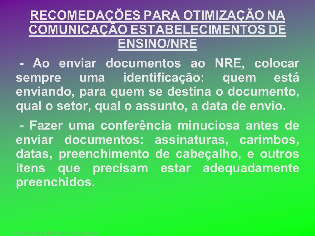 Núcleo Regional da Educação de Apucarana