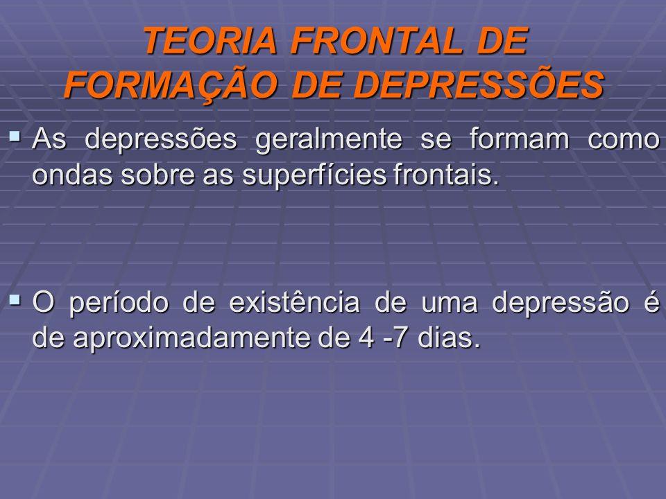 TEORIA FRONTAL DE FORMAÇÃO DE DEPRESSÕES