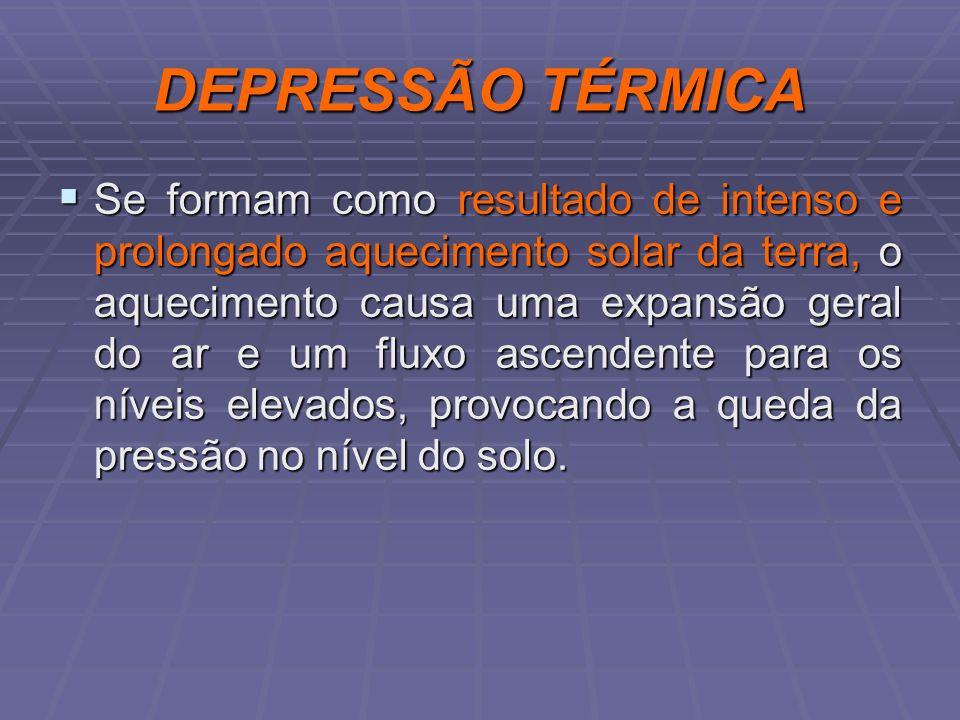 DEPRESSÃO TÉRMICA