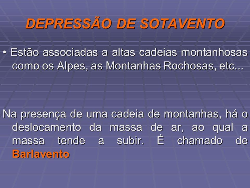 DEPRESSÃO DE SOTAVENTO