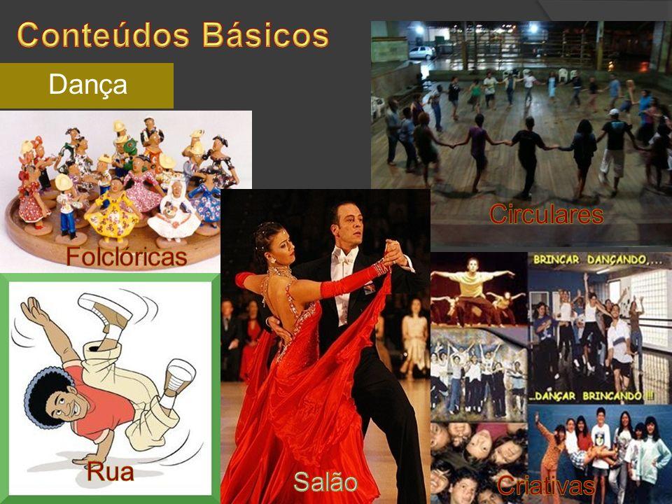 Conteúdos Básicos Dança Circulares Folclóricas Rua Salão Criativas