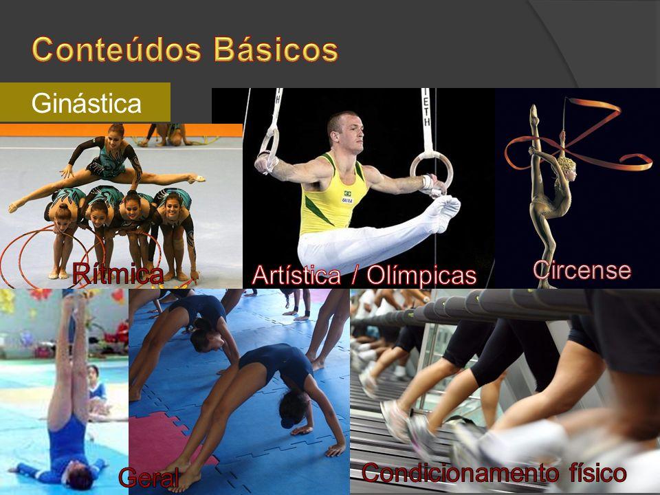 Conteúdos Básicos Ginástica Rítmica Circense Artística / Olímpicas