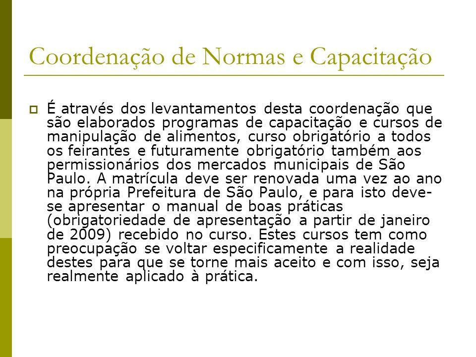 Coordenação de Normas e Capacitação