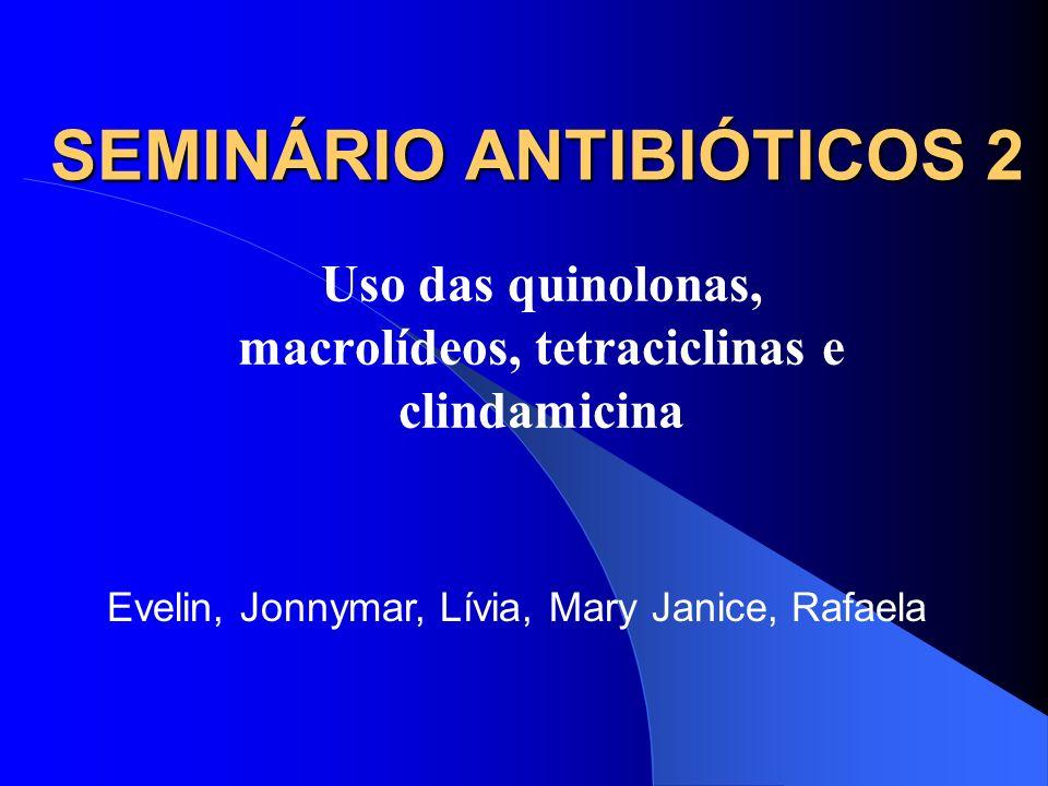 SEMINÁRIO ANTIBIÓTICOS 2