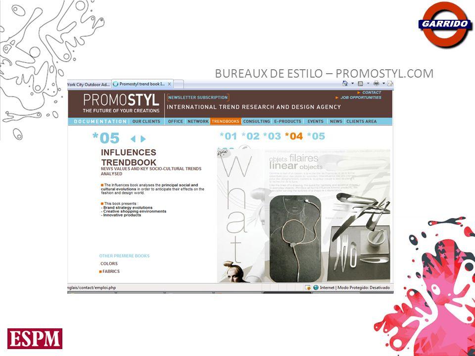 BUREAUX DE ESTILO – PROMOSTYL.COM