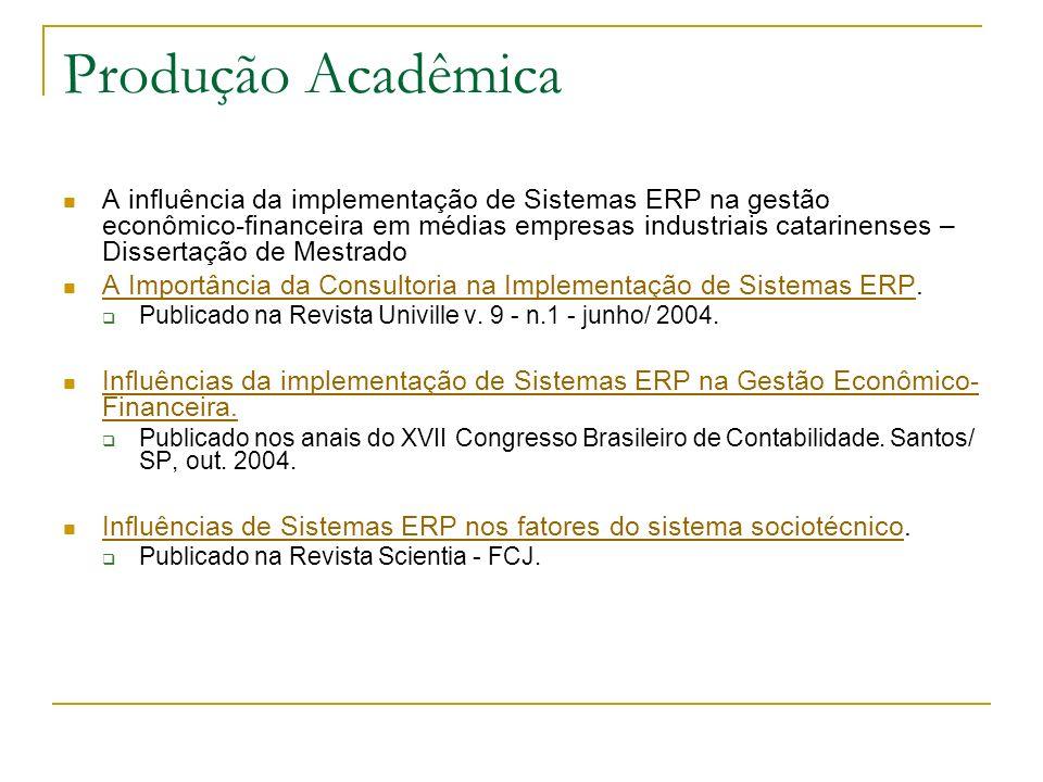 Produção Acadêmica