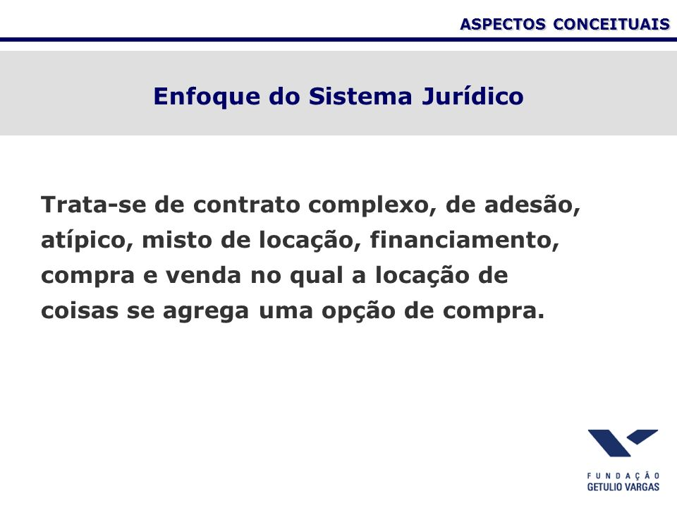 Enfoque do Sistema Jurídico