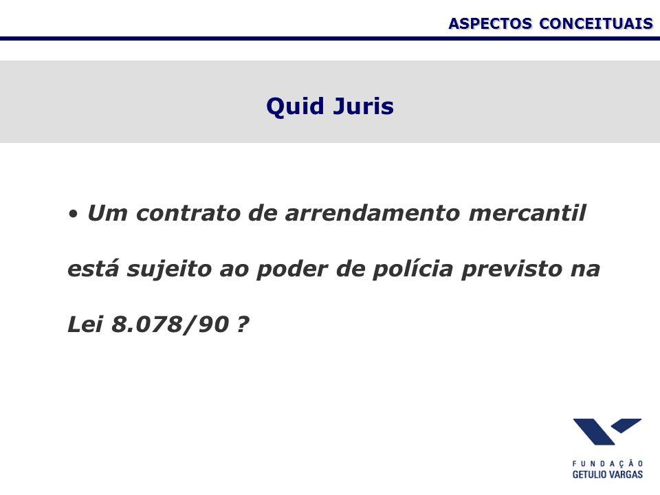 ASPECTOS CONCEITUAIS Quid Juris.