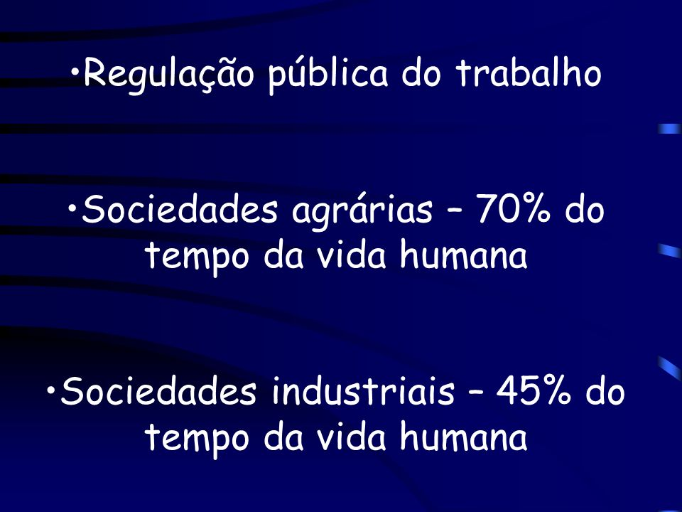 Regulação pública do trabalho