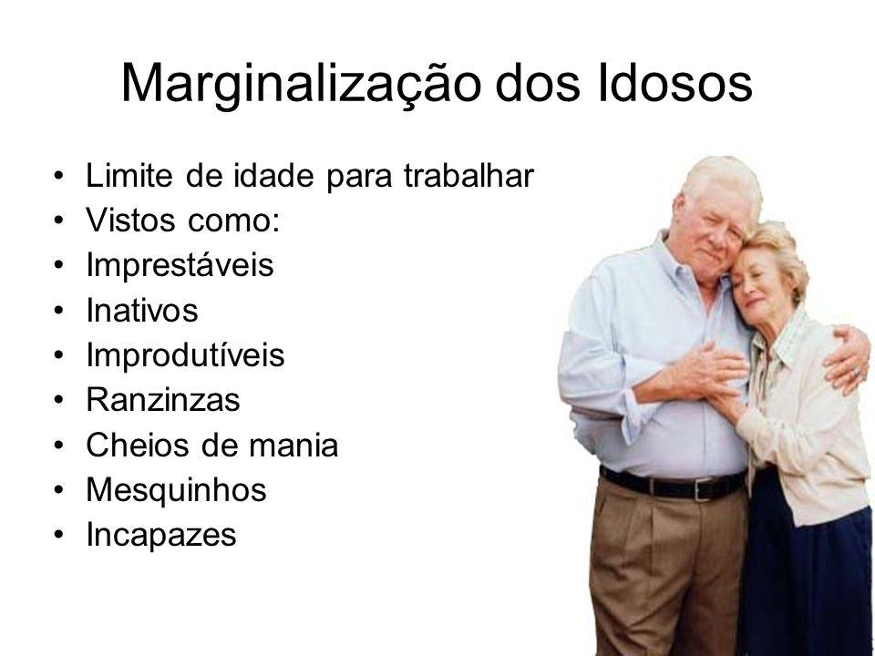Marginalização dos Idosos