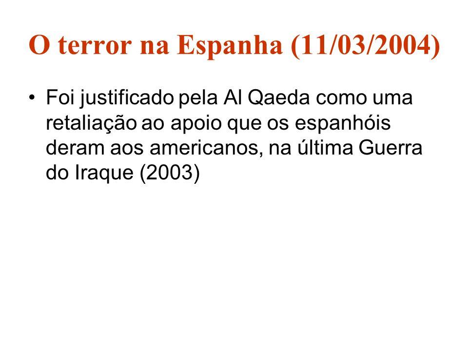 O terror na Espanha (11/03/2004)