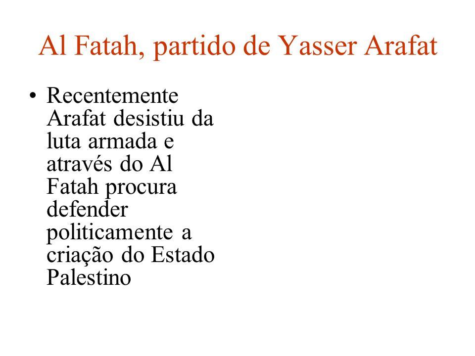 Al Fatah, partido de Yasser Arafat