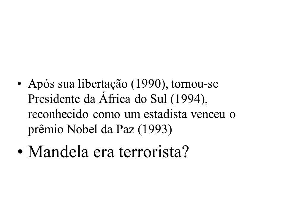 Mandela era terrorista