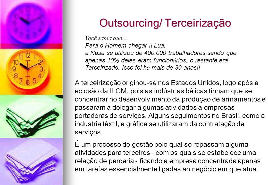 Outsourcing/ Terceirização