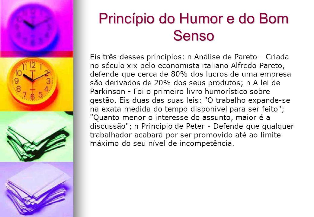 Princípio do Humor e do Bom Senso
