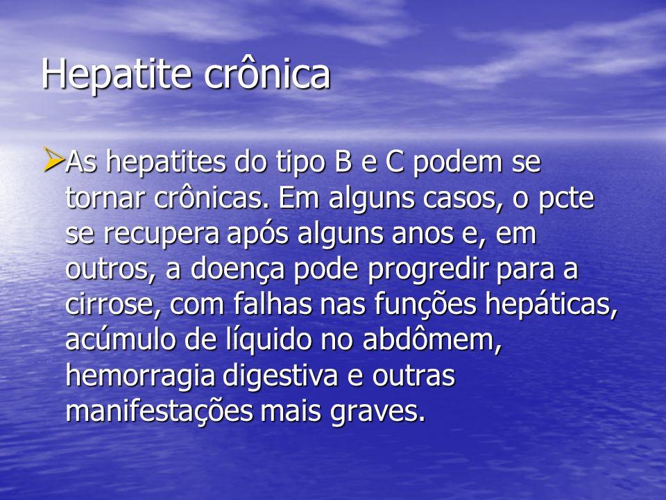 Hepatite crônica