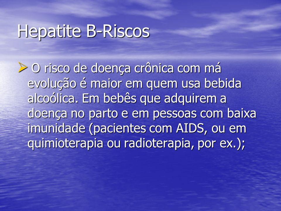 Hepatite B-Riscos