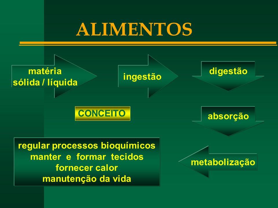 regular processos bioquímicos manter e formar tecidos