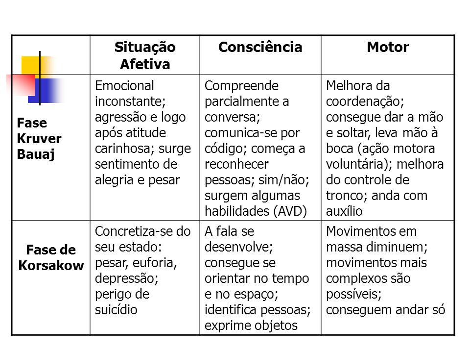 Situação Afetiva Consciência Motor