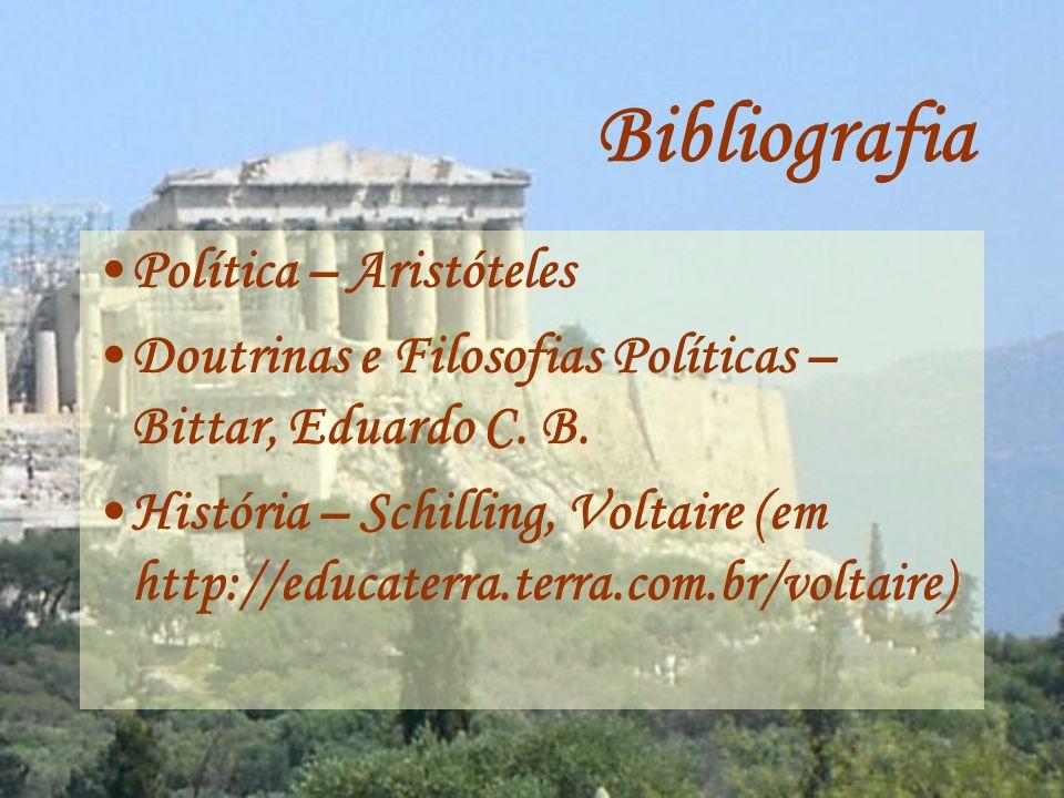 Bibliografia Política – Aristóteles