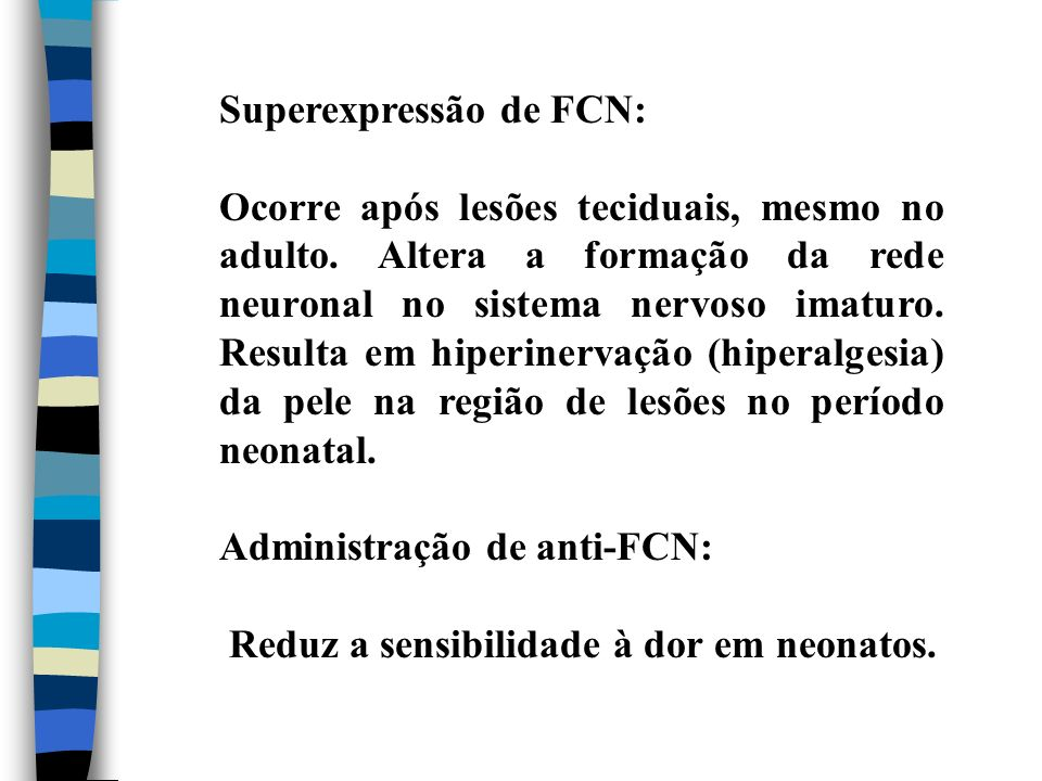 Superexpressão de FCN:
