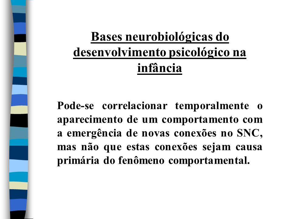 Bases neurobiológicas do desenvolvimento psicológico na infância