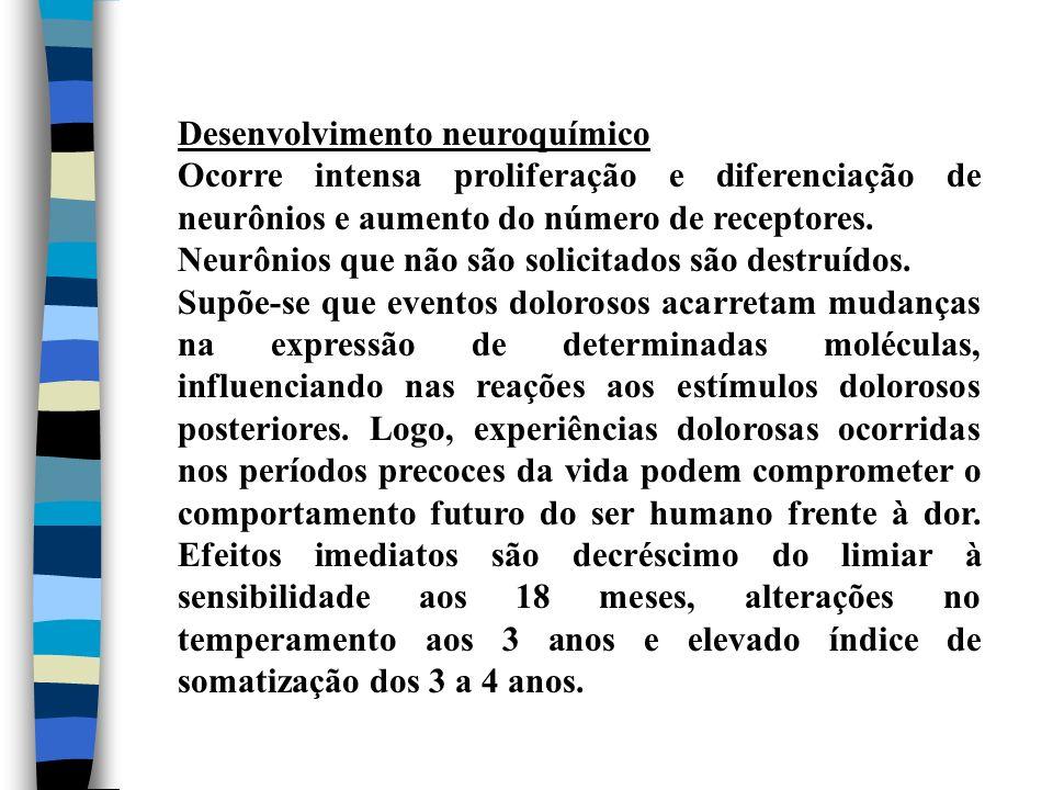 Desenvolvimento neuroquímico