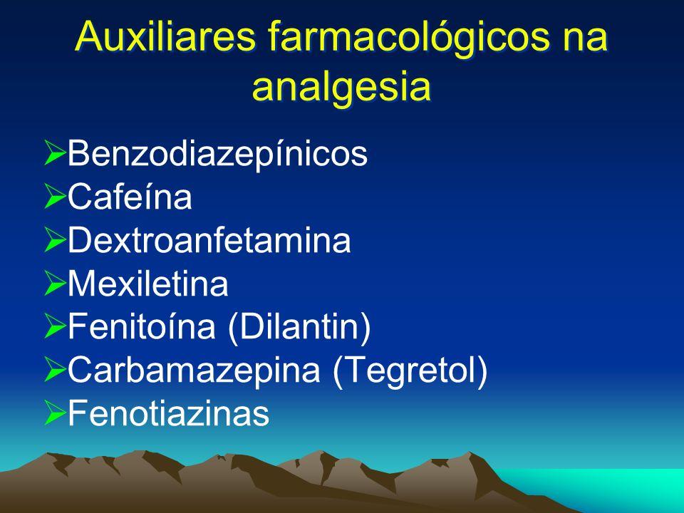 Auxiliares farmacológicos na analgesia