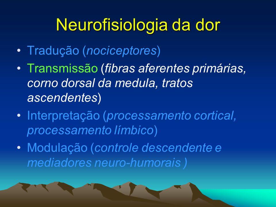 Neurofisiologia da dor