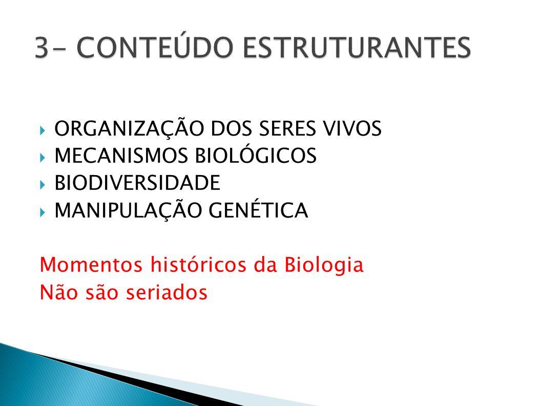 3- CONTEÚDO ESTRUTURANTES