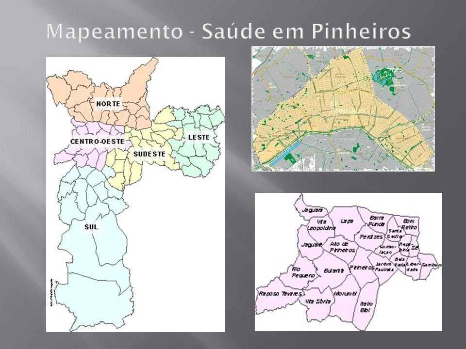 Mapeamento - Saúde em Pinheiros