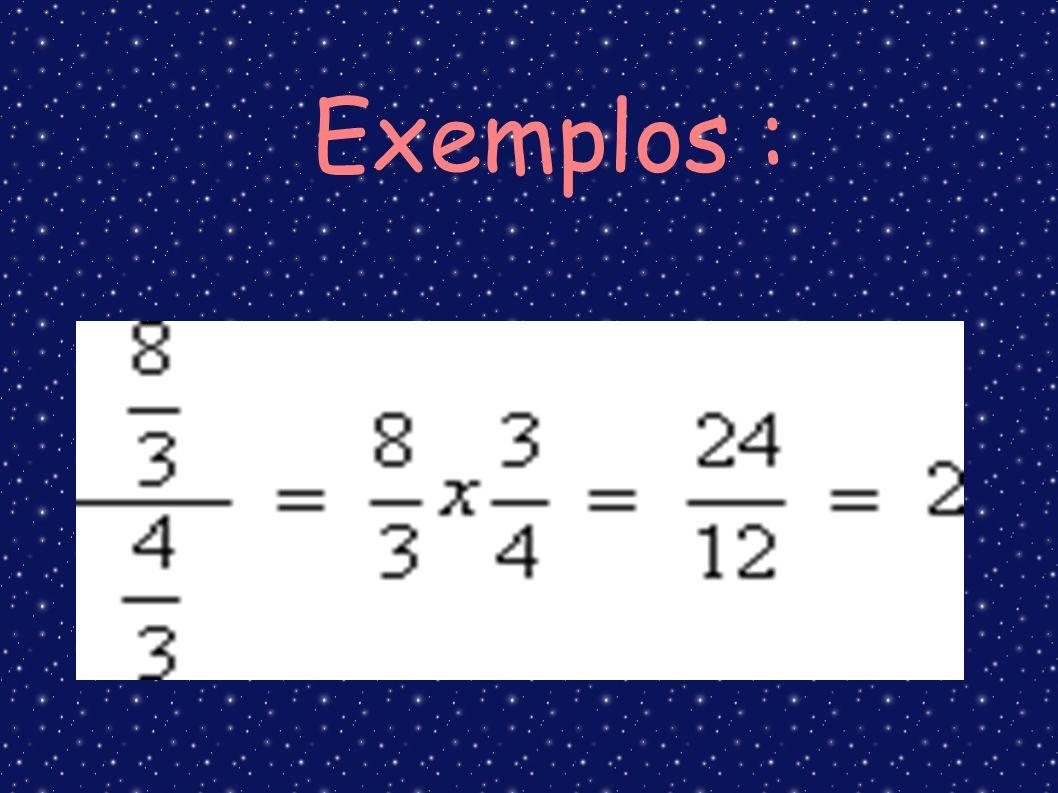 Exemplos :