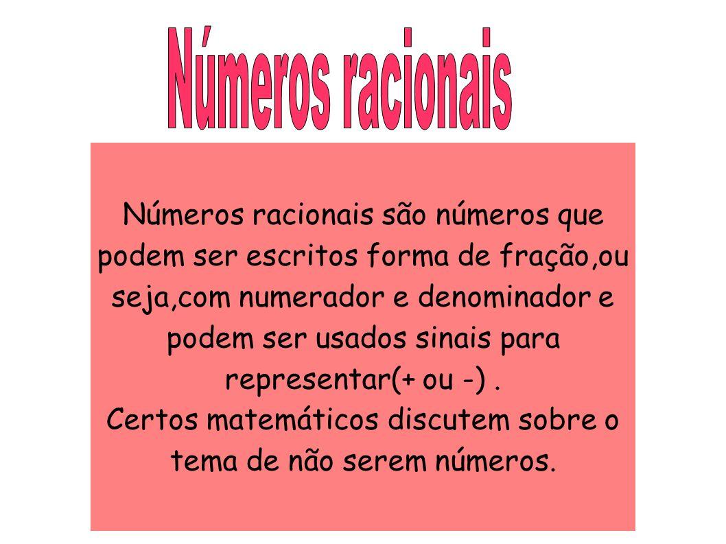 Certos matemáticos discutem sobre o tema de não serem números.