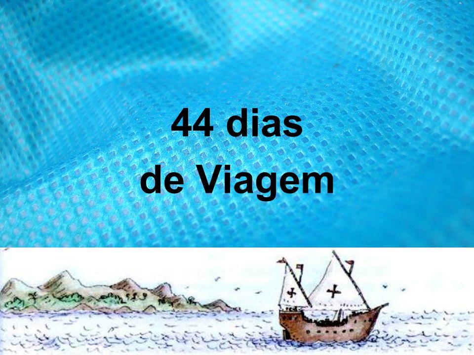 44 dias de Viagem