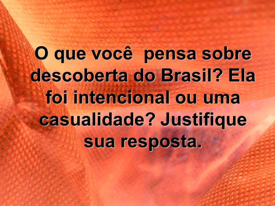 O que você pensa sobre descoberta do Brasil