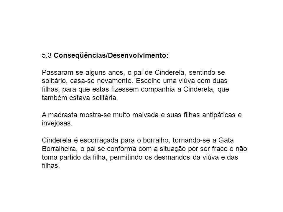 5.3 Conseqüências/Desenvolvimento: