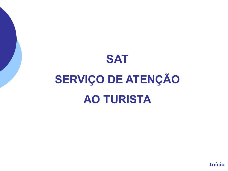 SAT SERVIÇO DE ATENÇÃO AO TURISTA