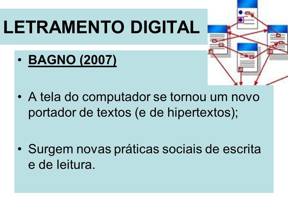 LETRAMENTO DIGITAL BAGNO (2007)