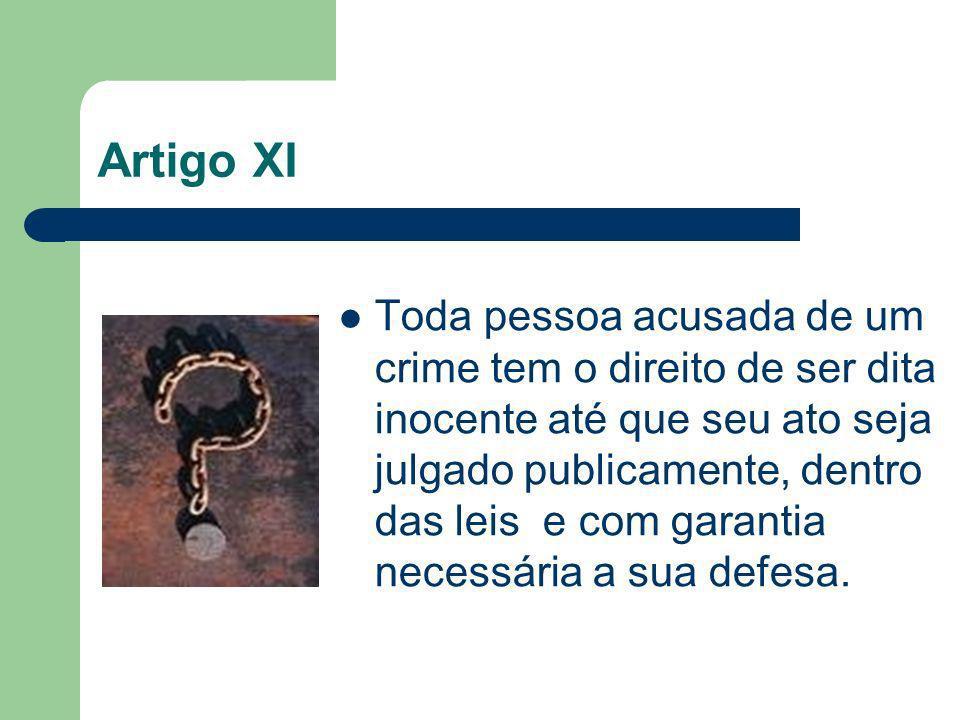 Artigo XI