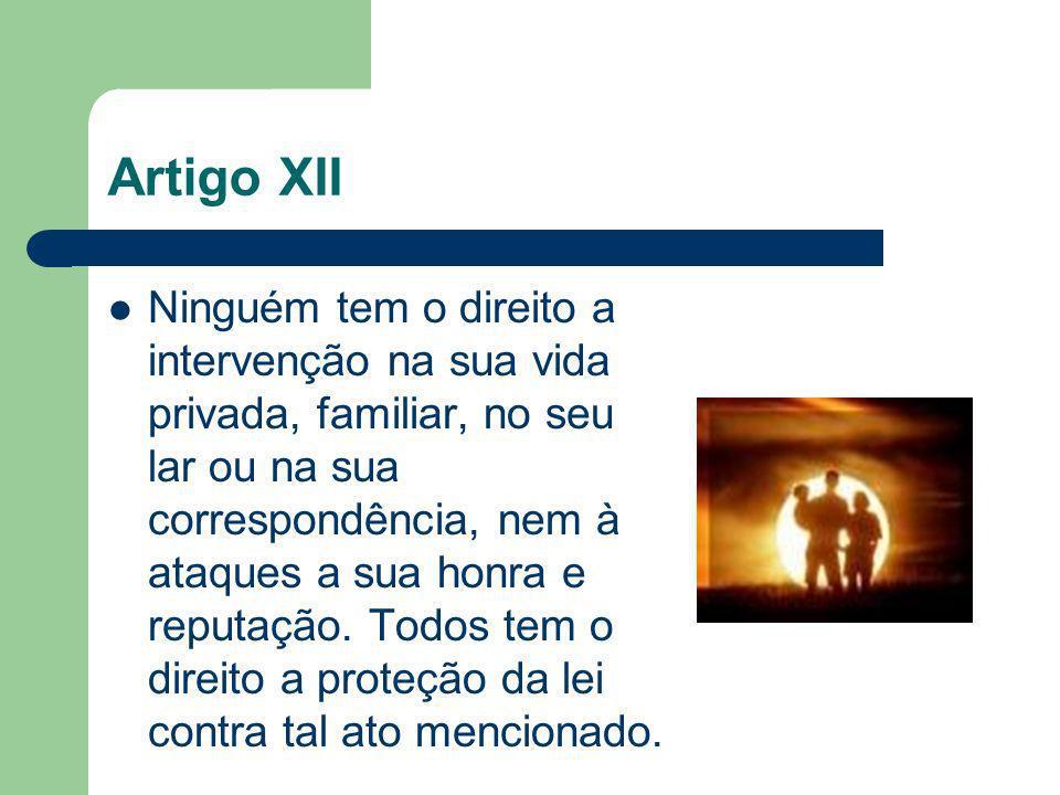Artigo XII