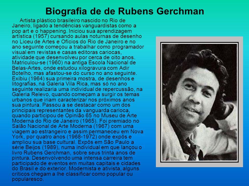 Biografia de de Rubens Gerchman