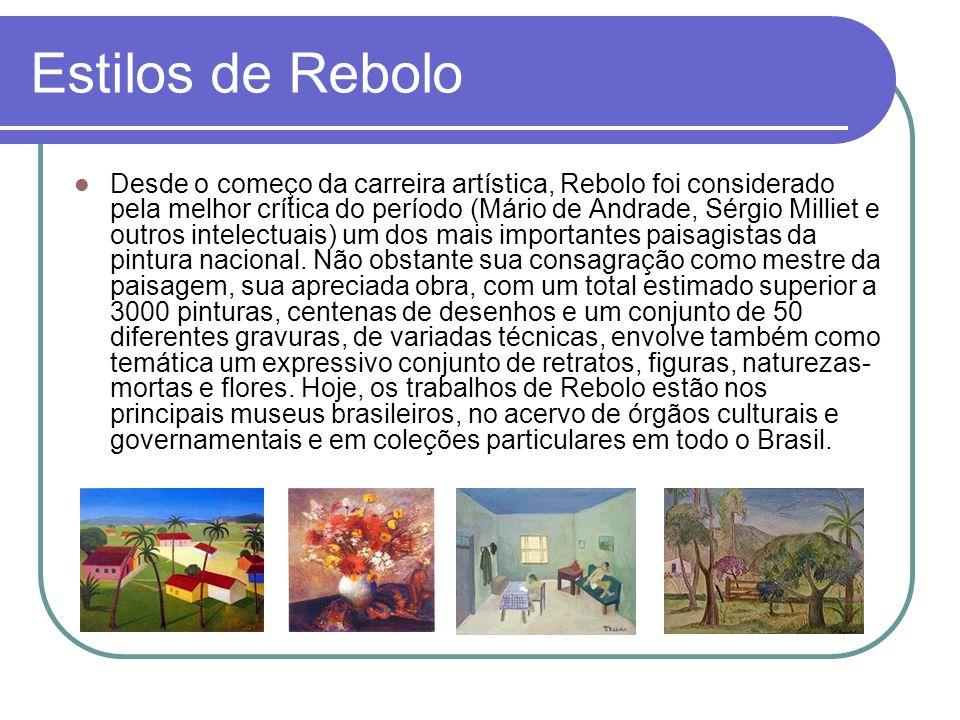 Estilos de Rebolo