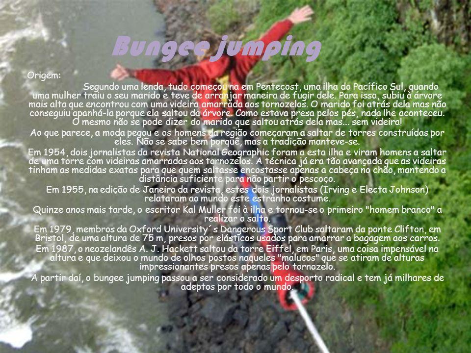 Bungee jumping Origem: