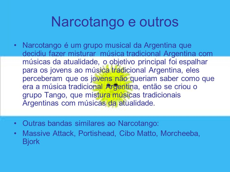 Narcotango e outros