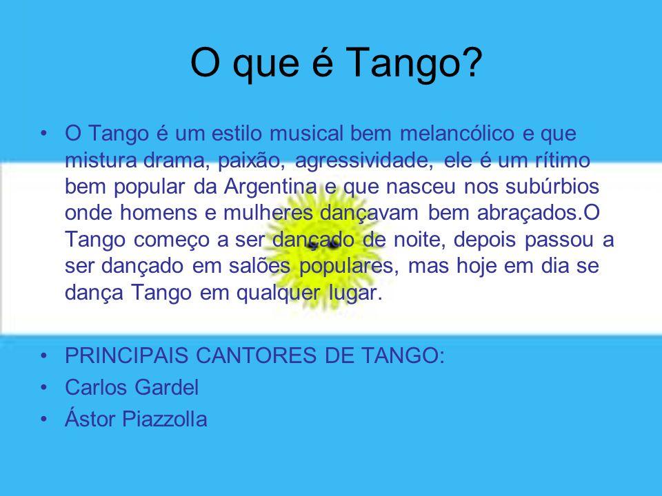 O que é Tango