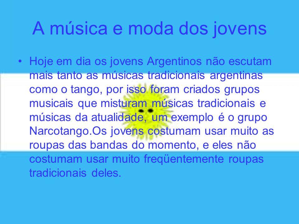 A música e moda dos jovens