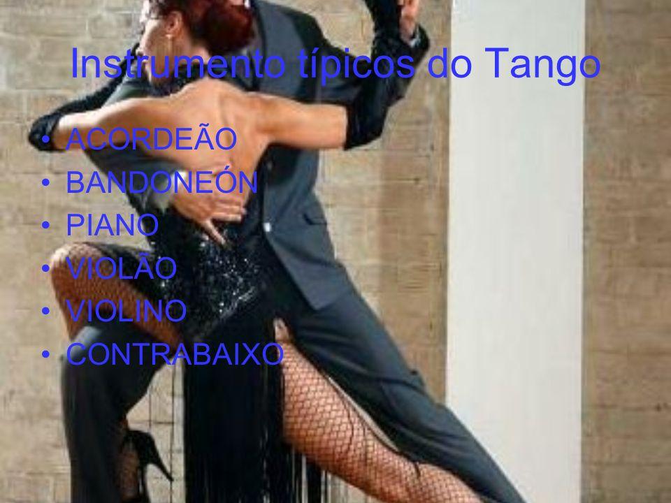 Instrumento típicos do Tango