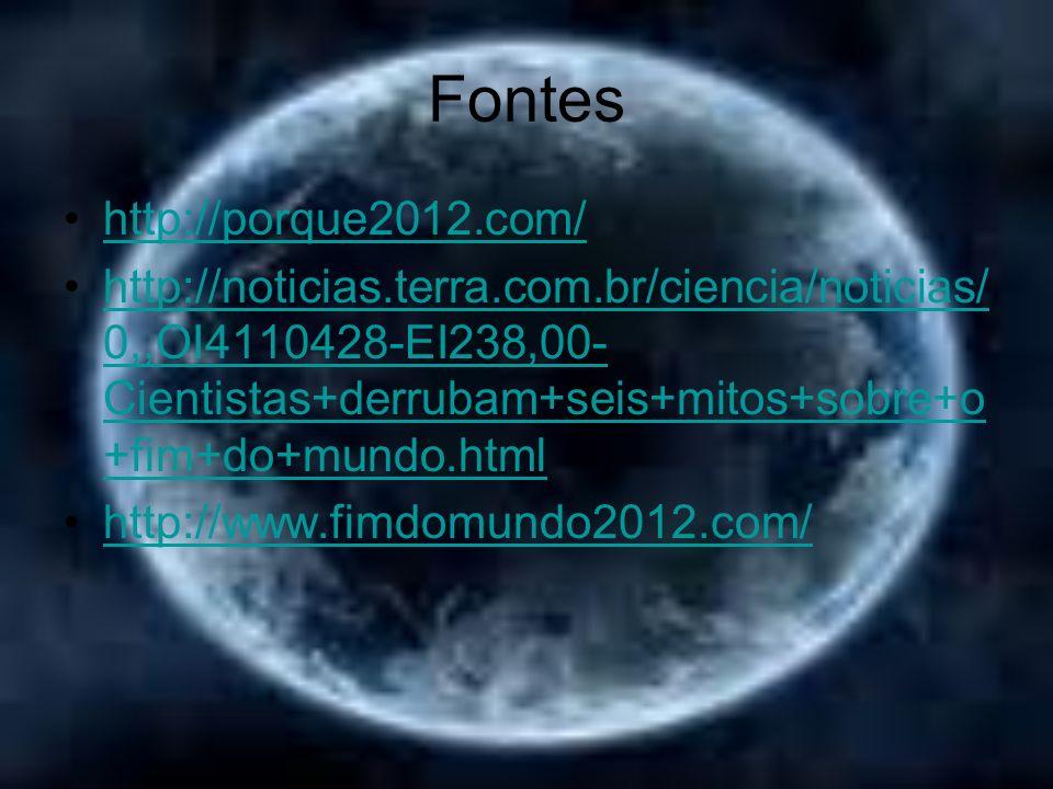Fontes http://porque2012.com/